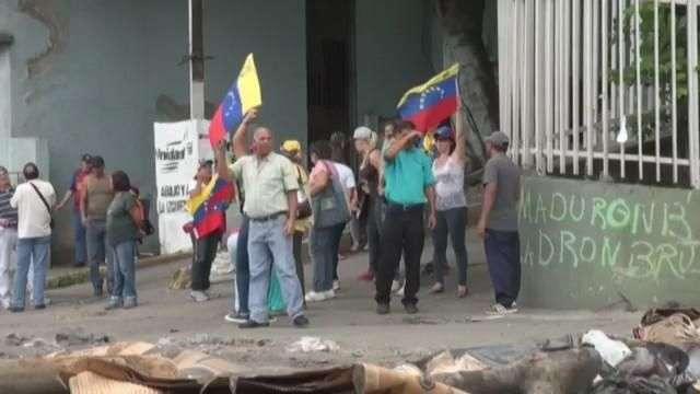 Opositores venezolanos se toman las vías para protestar contra la Constituyente