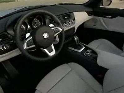 Interior del BMW Z4 2009