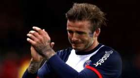 Beckham se despide entre l&aacute;grimas del f&uacute;tbol