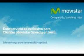 Contenido exclusivo para clientes Movistar Peru