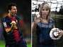 Inés Sainz interviews Lionel Messi in Barcelona (photos)