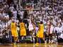 LeBron layup in OT beats Pacers in Game 1 (photos)