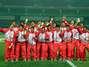 Nanjing 2014: Festejo de Perú al recibir la medalla de oro