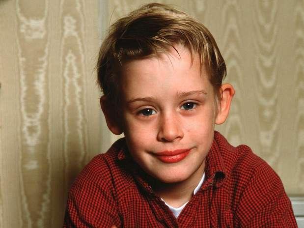 El tierno Macaulay Culkin a los 11 años, en la cima de su carrera.  Foto: Getty Images