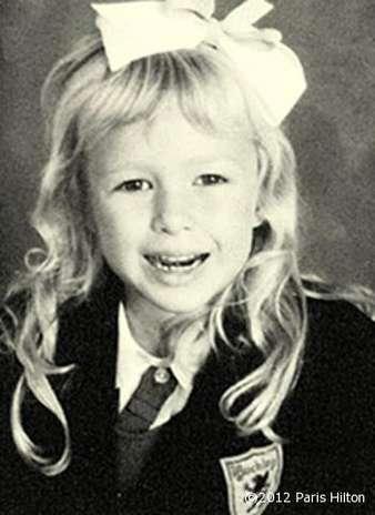 Paris Hilton en su época de niña buena de colegio privado. Foto: Facebook