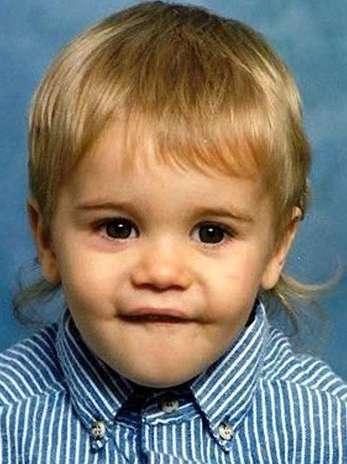 Justin Biebier de bebé. Sí aún más bebé que cuando se hizo famoso en Youtube. Foto: Difusión