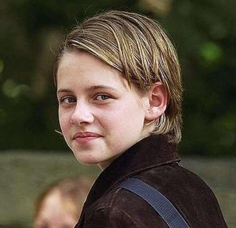 Kristen Stewart, mucho antes de ser la famosa preferida de los adolescentes con aspecto de niño. Foto: Difusión