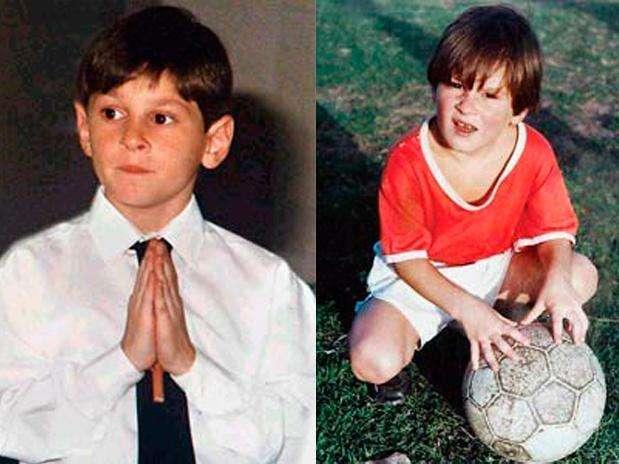 Messi, considerado el Mejor jugador del mundo, en su natal argentina nos muestra su lado más devoto. Foto: Difusión