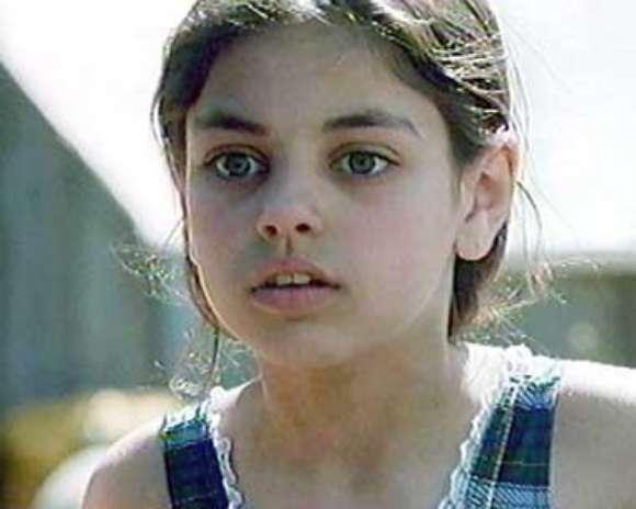 Mila Kunis con sus grandes ojos y lindo rostro. Foto: Difusión