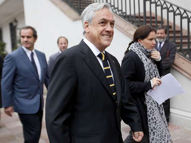 Presidente de la República, Sebastián Piñera. Foto: Agencia UNO