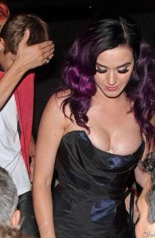 Katy Perry y Justin Bieber se fueron de fiesta Foto: The Superficial