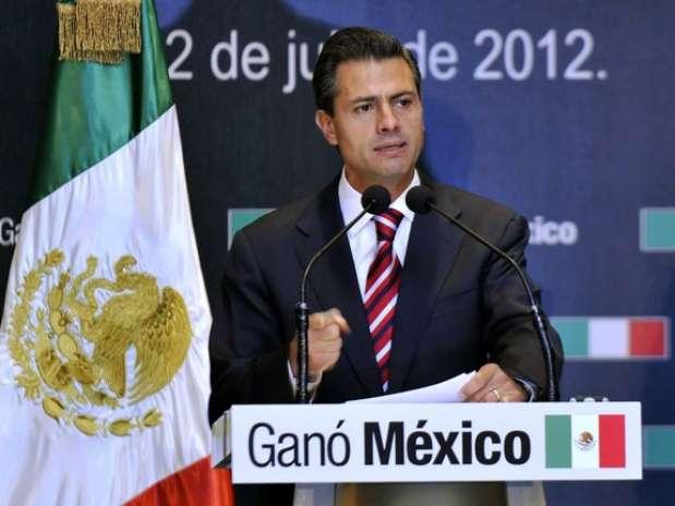 Enrique Peña Nieto es el virtual ganador a la Presidencia de México Foto: Getty Images