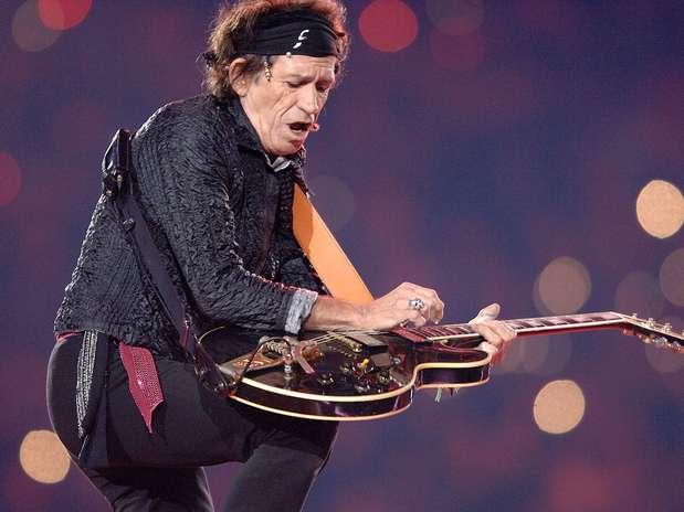 Entre otras cosas, se dice que Keith Richards aspiró las cenizas de su padre.  Foto: Getty Images