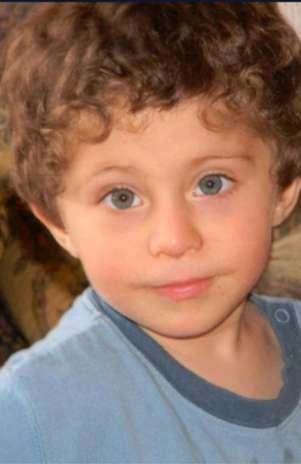 Rafael Dides de cuatro años se perdió el mediodía de este sábado Foto: Agencia UNO