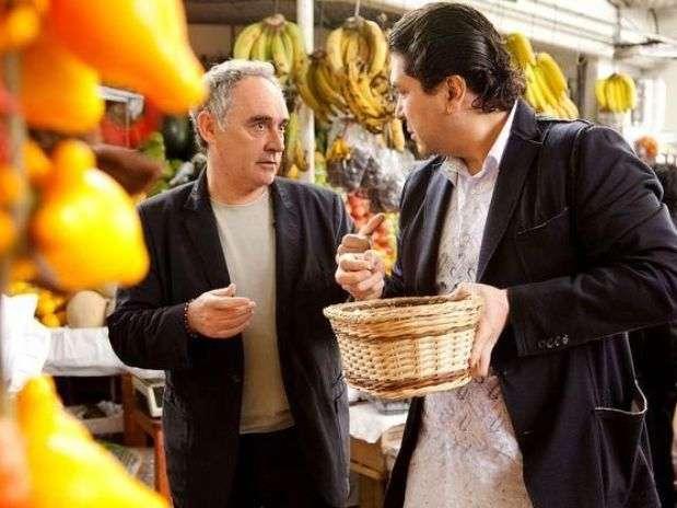 El documental narra el recorrido de los chefs Ferran Adrià y Gastón Acurio por la costa, sierra y selva. Foto: Difusión