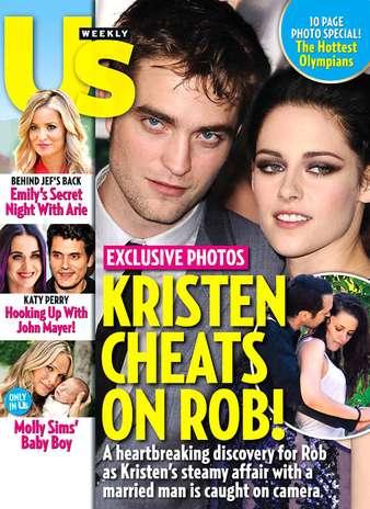 Sin embargo, la revista USWeekly tiene en sus manos unas fotografías del 17 de julio donde la estrella de Twilight está abrazada y besando a Rupert Sanders, el director de su más reciente película.