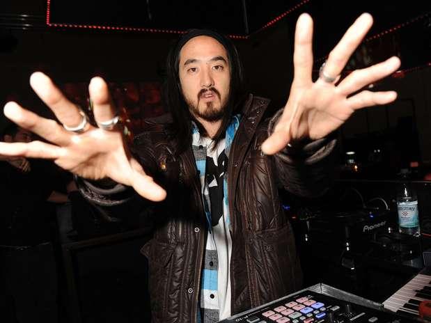 El quinto lugar entre los DJ mejor pagado es Steve Aoki con $12 millones de dólares. Foto: Getty Images