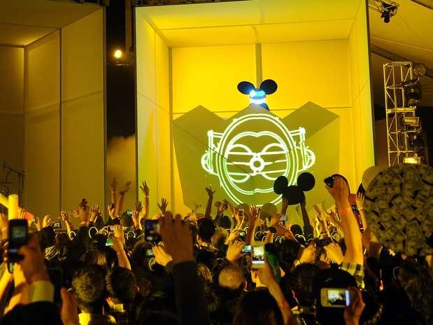 El carismático Deadmau5 se plantó en la sexta posición con $11.5 millones de dólares al año. Foto: Getty Images