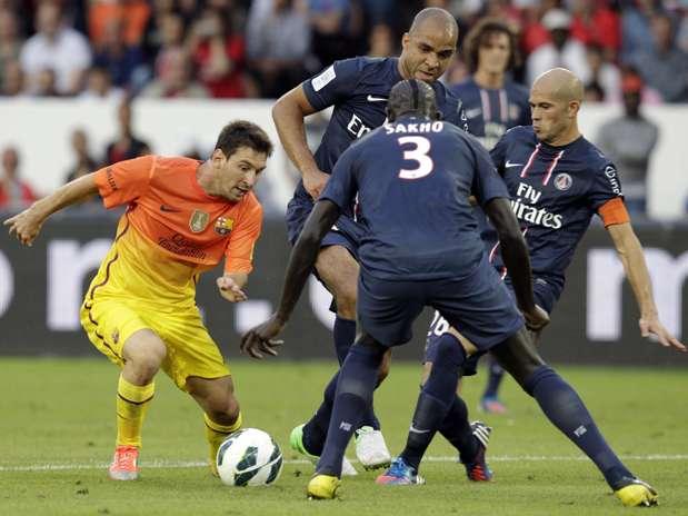 Messi marcó un gol ante el equipo de 'Ibra'. Foto: Reuters