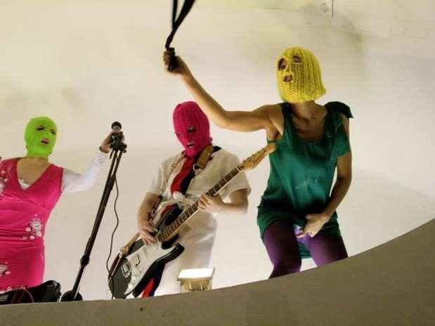 Pussy Riot Foto: Divulgación