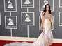 Katy Perry en los Grammys del 2011, vestida como un ángel con alas y todo. Foto: Getty Images
