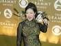 Margaret Cho, comediante y actriz, en los Grammys del 2004.  Foto: Getty Images