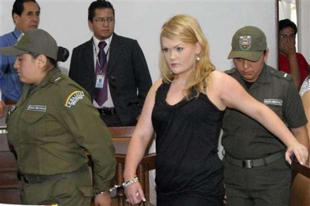 Stina Bredema Hagen, de Noruega, enfrentó a la justicia boliviana, acusada de tráfico de drogas. Foto: AP/AFP/GettyImages