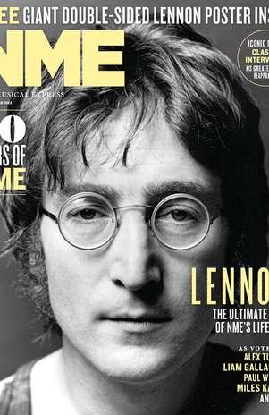 John Lennon es el último ícono de NME Foto: NME