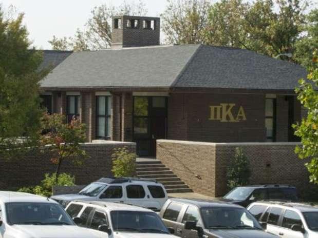 En esta foto del 25 de septiembre de 2012 se observa la casa de la fraternidad Pi Kappa Alpha de la Universidad de Tenesí en Knoxville, Tenesí Foto: AP
