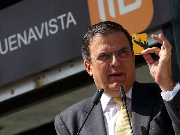 Marcelo Ebrard Foto: Agencia Reforma