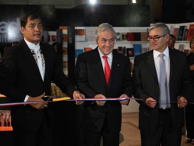 Los mandatarios de Chile y Ecuador destacaron la relevancia de este evento. Foto: UPI