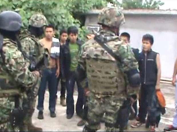Las 14 personas, originarias de Centroamérica y presuntamente secuestradas, refirieron haber sido plagiadas en diversos lugares de la zona conurbada Tampico-Madero-Altamira. Foto: Semar / Reproducción
