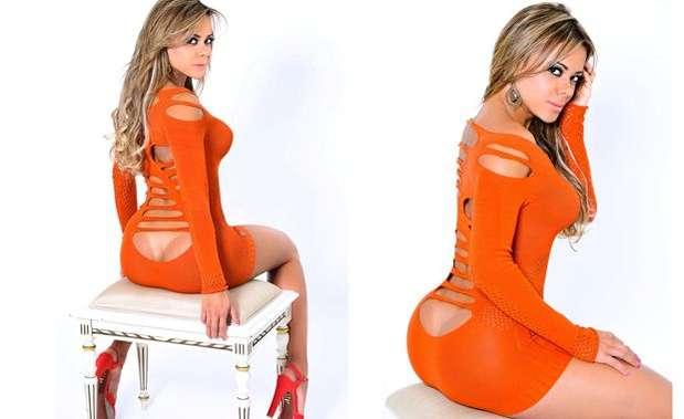 Esta es Cibelle Ribeiro, la nueva novia de Romario y un fuerte candidata para ganar el concurso 'Miss Bum-Bum'. Foto: Twitter: @cibelleribeiro