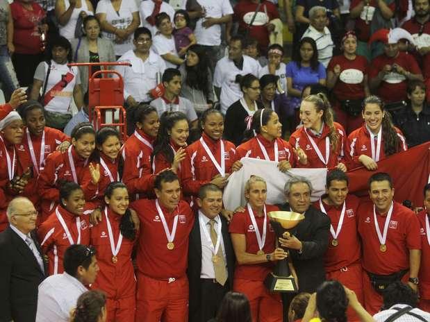 Perú campeonó en el último Sudamericano de Vóley de Menores venciendo a Brasil. Foto: Miguel Bustamante / Terra Perú