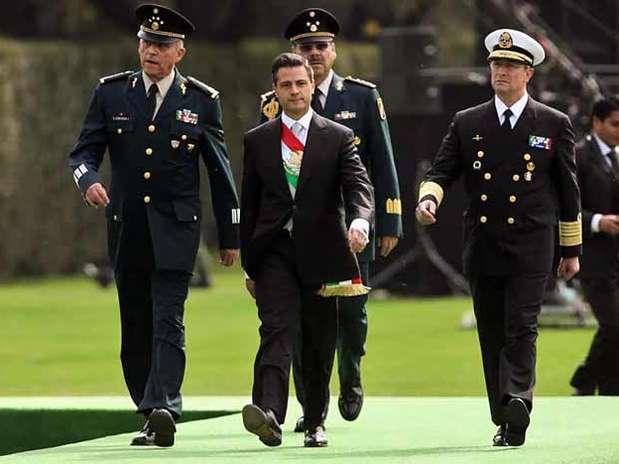 El titular del Ejecutivo estará acompañado por los Secretarios de la Defensa y Marina. Foto: Archivo / Reforma