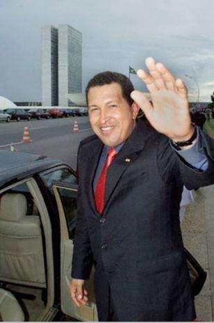 A principios del 2001 Hugo Chávez realizó una gira por varios países asiáticos. Foto: Gobovisión