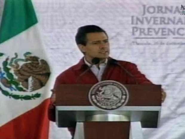 El presidente Enrique Peña Nieto pidió a su gabinete realizar trabajo de campo para estar cerca de las necesidades de las personas. Foto: Especial