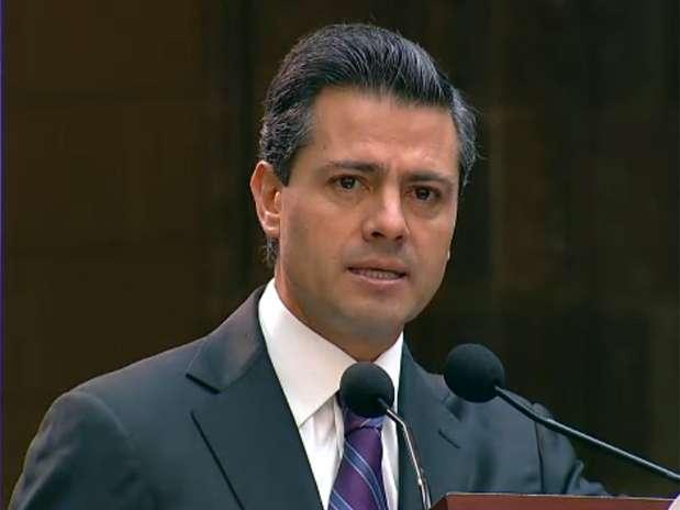 Enrique Peña Nieto tiene un salario de 193 mil 478 pesos. Foto: Reproducción video