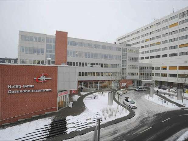 Fachada del hospital Espíritu Santo en Colonia, Alemania,Uno de los que negó la atención.  Foto: EFE en español