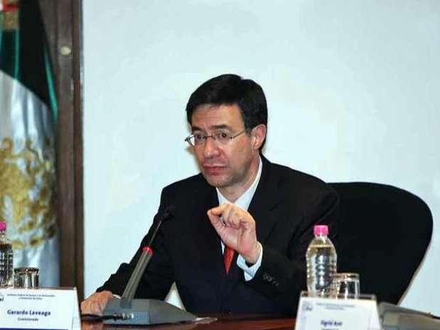 El comisionado Laveaga será presidente del IFAI por los próximos dos años. Foto: Archivo