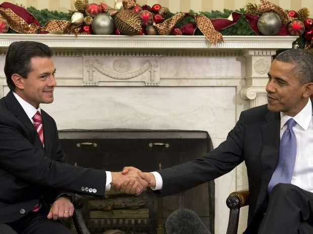 Los dos temas centrales en la agenda doméstica de la Casa Blanca para este año ponen a México dentro de la discusión política de Washington. Foto: AP