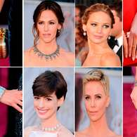 Oscar 2013: un gran festin de diamantes y brillo. Foto: getty