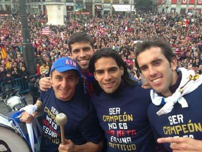  Foto: Twitter: @Falcao