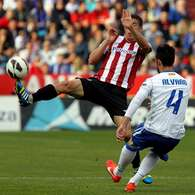 Las mejores imgenes del Zaragoza-Athletic. Foto: EFE