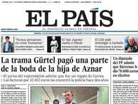 Portadas nacionales del martes 21 de mayo de 2013. Foto: El Pas