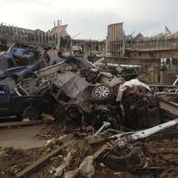 Tornado mortal devasta la ciudad de Oklahoma. Foto: STRINGER / Reuters