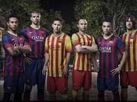 Barcelona represents Catalan flag in new uniforms (photos). Photo: Nike/Barcelona