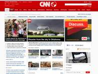 El tornado protagoniza las webs de los medios estadounidenses. Foto: CNN
