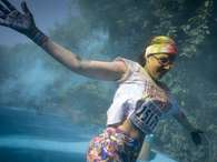 La popular carrera 'The Color Run' tiene su versin en Brasil.