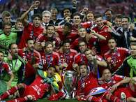 Bayern Munich celebrate the Champions League title (photos). Photo: MICHAEL DALDER / REUTERS